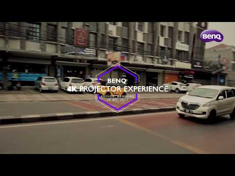 BenQ X12000- Home Cinema 4K DLP Projector Event di Audion Bandung
