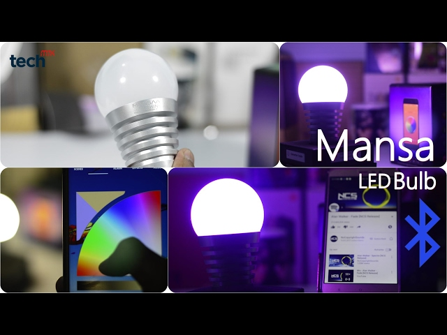 Mansaa SmartShine Bluetooth Smart LED Bulb Review | More than a Bulb | Made in India