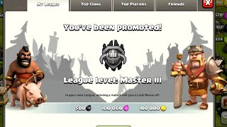 Clash of Clans - Final Push to Masters!