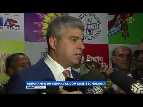"""Band Cidade - """"Segurança do carnaval com mais tecnologia"""""""