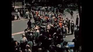Rare Footage: The Rebbe Visits Prospect Park, Lag B'omer 5720 - 1960
