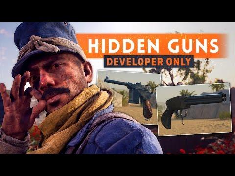 ► HIDDEN DEVELOPER WEAPONS! - Battlefield 1 (C96 Export + Howdah Pistol Sweeper)