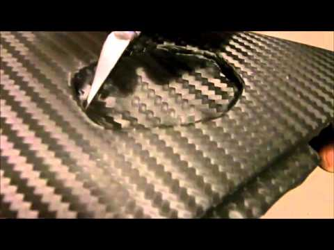 Carbon Fiber Wrapping For A Motorcycle Bike Vehicle Car