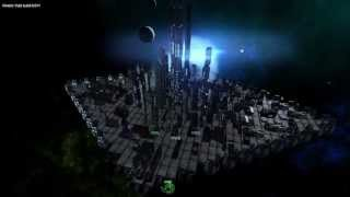Kinetic Void: Building a Huge Space City