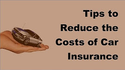 Tips to Reduce the Costs of Car Insurance Under 25 Years Old  - 2017 Reduce Car Insurancew Rates
