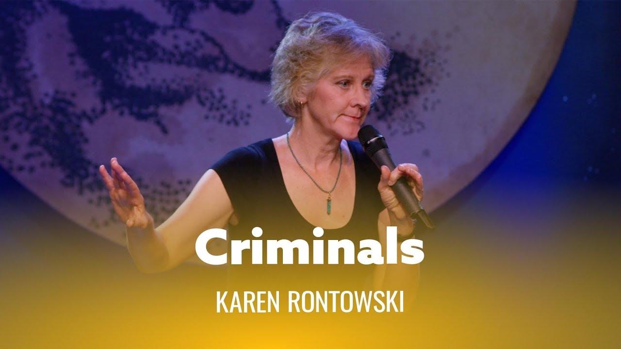 DryBar Comedy Criminals. Karen Rontowski