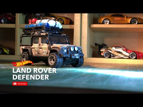 Land Rover Defender - Hotwheels personalizing project