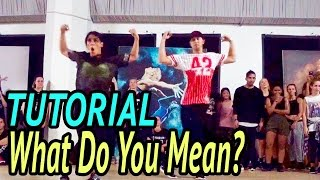 what do you mean justin bieber dance tutorial   mattsteffanina choreography adv hip hop