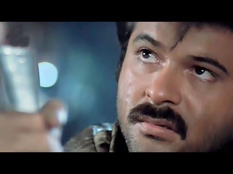 Madhuri Dixit, Anil Kapoor, Kiran Kumar,Tezaab - Scene 2/20 (k)