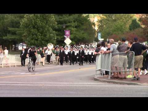 Ohio University Marching 110 Pregame Parade Sep 20 2014