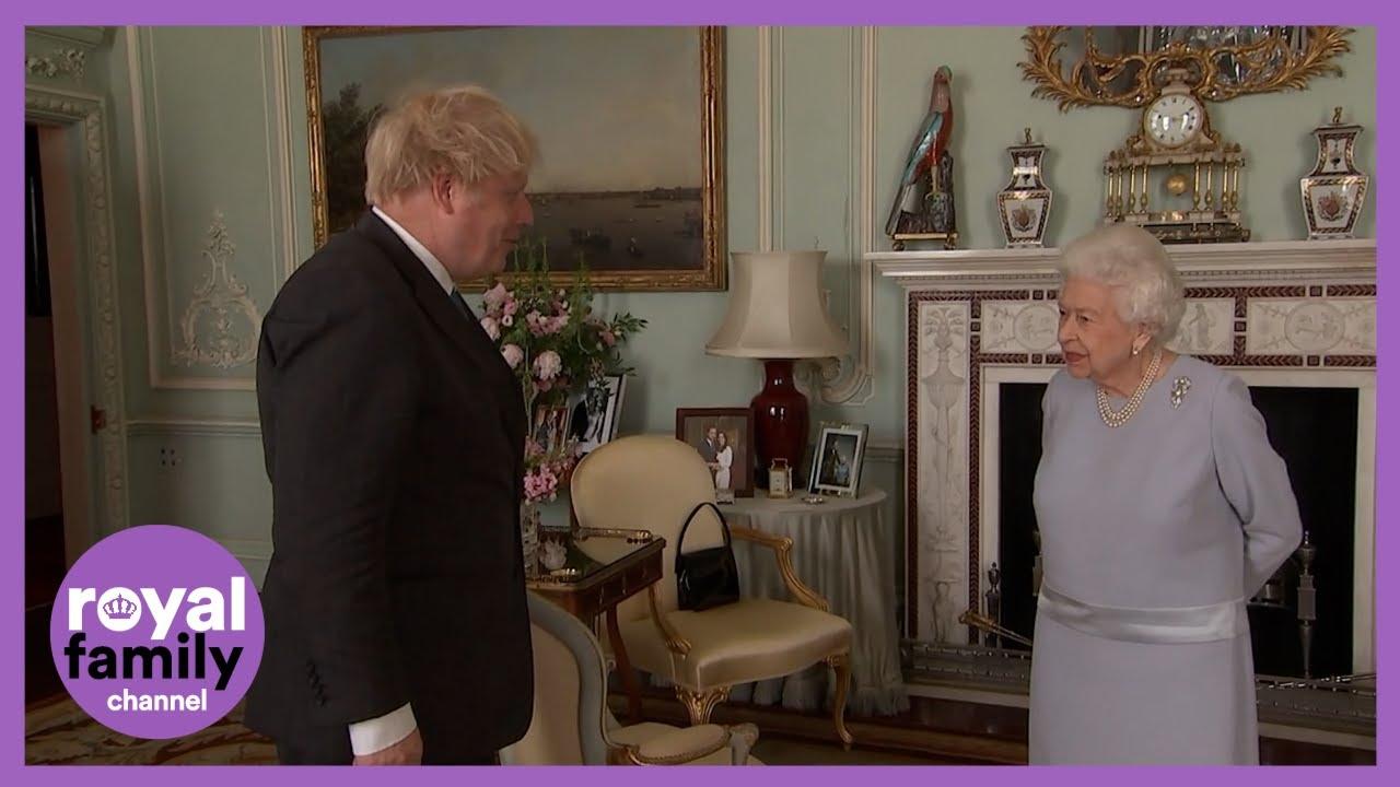 The Royal Family and Boris Johnson