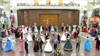 Клип Традиционный весенний бал в музее ВОВ 14 мая 2016 г