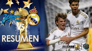FC Zenit vs Real Madrid Al kass International Cup 2020 U 17