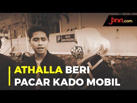 Athalla Naufal Memberi Kado Pacar Mobil, Venna Melinda Santai