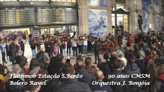 AMAZING FLASHMOB - Bolero Ravel / S.Bento Train Station - Porto (90 Years CMSM)