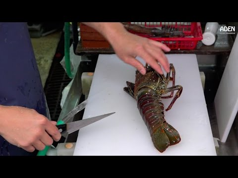 Thumbnail: Lobster Sashimi - Street Food in Japan