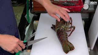 Lobster Sashimi - Street Food in Japan