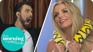 britney spears is baffled by rylan s dance moves game   this morning