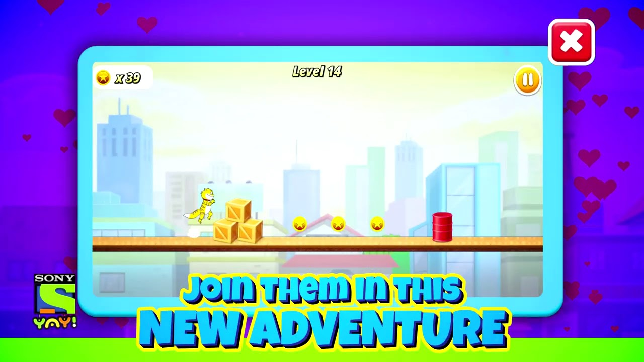 Honey Bunny in run for Kitty | Brand New Game | Download Now