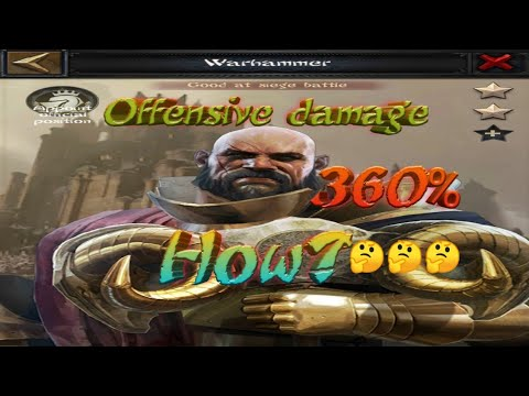 Clash Of King 2020 : How To Up Offensive Damage Over 360%