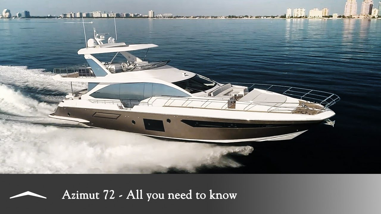 Azimut 72 All you need to know