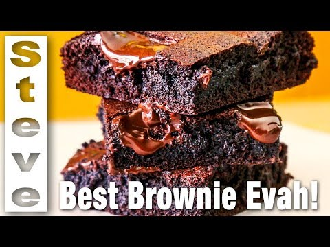 GOOEY FUDGY BROWNIES - The Best!  What do you think?