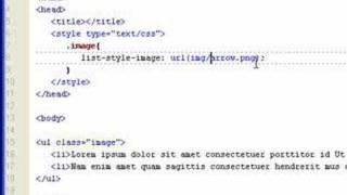 CSS List Style Image