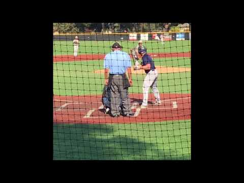 Dominic Tating works out of jam vs. Masters Univ Oct 14, 2017
