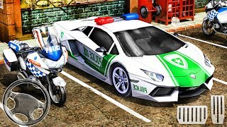Police Car Station Parking Simulator - Best Android Gameplay