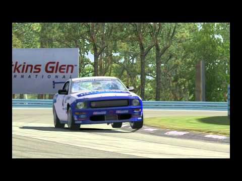 GRAND-AM Online Racing Series Action