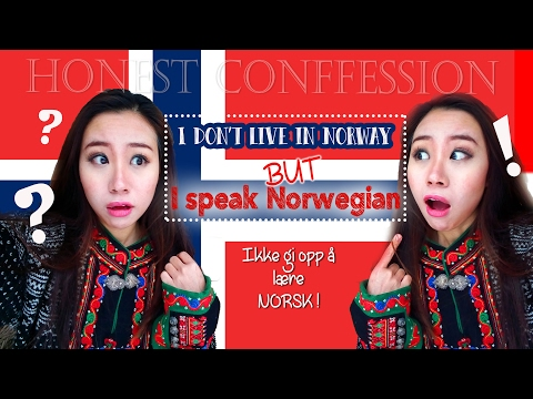 I don't live in Norway but I can speak norwegian I Honest Co