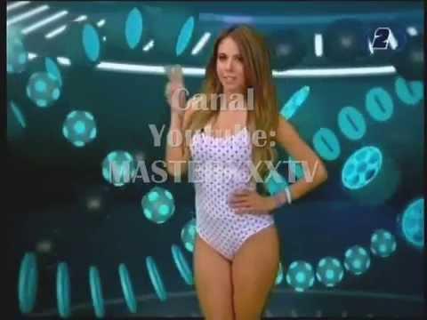 JIMENA SANCHEZ TRAJE DE BAÑO -FOX SPORTS- - YouTube