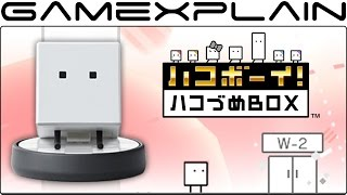 Goodbye! BoxBoy! & amiibo Announced for 3DS + Gameplay (Japan)