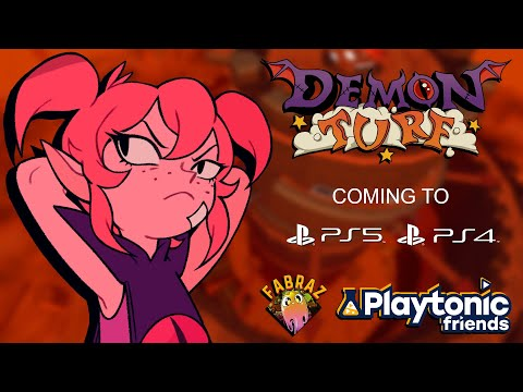 Playtonic Friends Presents: Demon Turf is coming to Playstation