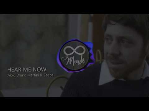 Alok Bruno Martini feat Zeeba - Hear Me Now 8D   Use Headphones