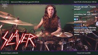 "Slayer - ""Criminally Insane"" - Drums"