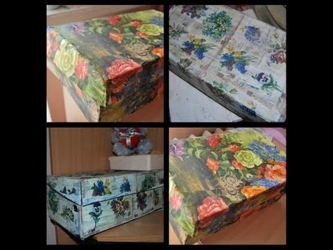 DIY/Красивая коробка своими руками/Hand Made
