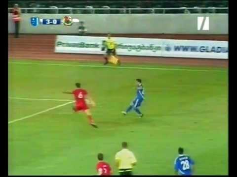 Football - UEFA Europa League - 2011-12 - Dinamo Tbilisi-Llanelli - Robertinho