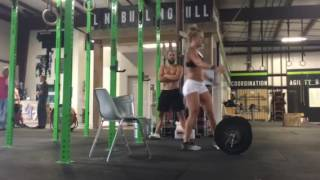 Granite Games Qualifier Workout 4 2016