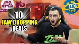 10 JAW DROPPING DEALS ! | Flipkart and Amazon Sale