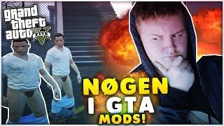 [Dansk] GTA 5 Spas - NØGEN I GTA!?! & Vi leger med Mods!