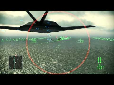 Ace Combat Assault Horizon :: (Mission 10) Hostile Fleet :: (HD) :: Difficulty Ace