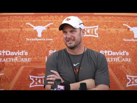 The Bottom Line - Tom Herman Post Practice Before LSU