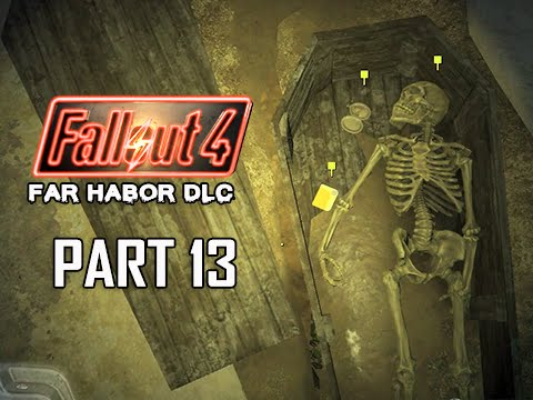 Fallout 4 Far Harbor DLC Walkthrough Part 13 - Bones of the Past (PC Ultra Let's Play)