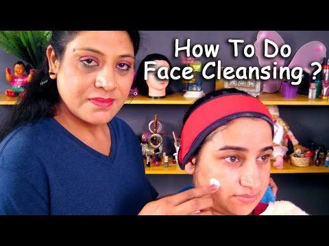 Face Cleansing Procedure In 3 Easy Steps By Sonia Goyal @ ekunji.com