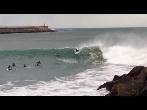 Surf Espigón Hondarribia