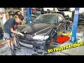 So FRUSTRATING! What The GAP! Rebuilding A Wrecked BMW E46 (Part 5)