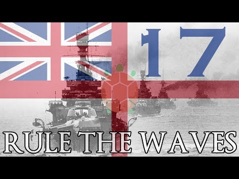 Rule the Waves | Let's Play Britain - 17 - Fleets Collide (Part 1)