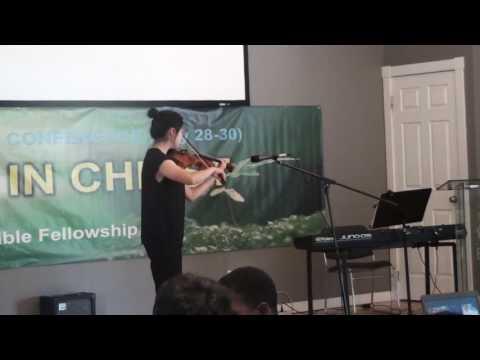 2017 Canada UBF summer bible conference (Violin Solo)