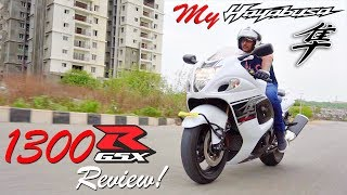 My New Beast Suzuki Hayabusa GSX1300R Review 2017